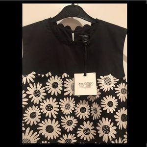 NWT Victoria Beckham Target B&W girls dress XL